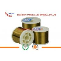 Buy cheap Flat Enamelled Wire / Nichrome Alloy Wire 155 Class I/ II Type Polyurethane product