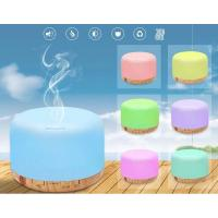 Buy cheap 500ml Ultra-Quiet Environment Ultrasonic Aroma Diffuser With 7Color Light product