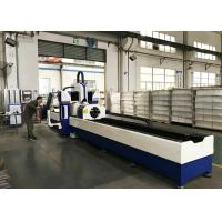 Buy cheap Automatic CNC Pipe Cutting Machine Stainless Steel Metal Fiber Laser 380V/50Hz product