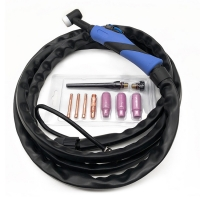 Buy cheap WP9 Air cooled 4M/8M tig torch welding torch and parts for tig welder from wholesalers