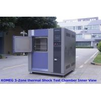 Buy cheap Three - Slot Thermal Shock Test Chamber For Testing Chemical Changes Caused By Thermal Expansion And Contraction product