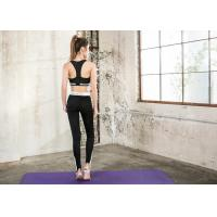 Sexy Custom Ladies Yoga Wear , Durable 4 Way Stretch Yoga Workout Clothes