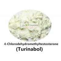 Buy cheap 4-Chlorodehydromethyltestosterone / Turinabol Raw Testosterone Powder Anti-estrogen 2446-23-3 product