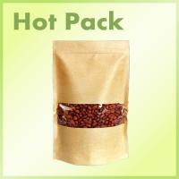 Buy cheap Customize Stand up paper bag with zipper coffee bag product
