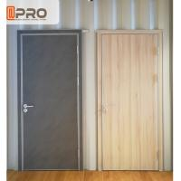Buy cheap Elegant MDF Interior Doors ISO Certification For Residential And Commercial product