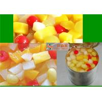 Buy cheap Delightful Canned Fruit Nutrition In Cherry Pear Pineapple Grape Peach product