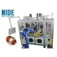 Buy cheap Air Conditioner Stator Winding Inserting Machine 4 Working Station 380v 50 / 60hz product