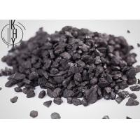 Buy cheap Industrial Black Color Electrically Calcined Anthracite ECA Coal Granulars Type from wholesalers