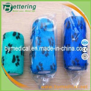 Buy cheap Da atadura coesiva animal do animal de estimação da atadura da impressão da pata atadura autoadesiva veterinária product