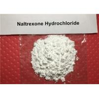 Buy cheap 99% Long Acting Narcotic Antagonist Drug Raw Powder Naltrexone Hydrochloride CAS 16676-29-2 product