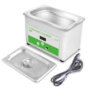 Buy cheap Mini Household Ultrasonic Cleaner , 800ML Ultrasonic Watch Cleaning Machine 35w product