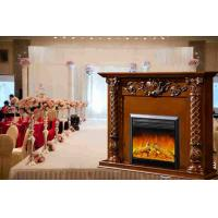 China Decorative Fake Flame European Electric Fireplace Heater Insert for Apartment on sale