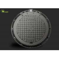 Buy cheap Round Drain Manhole Grating Square Drainage Ductile Cast Iron Well Cover Frame product