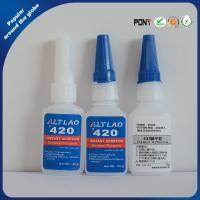 Buy cheap Instant Bond Cyanoacrylate adhesive for Plastic , Super Strong Super Glue product