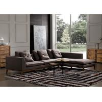 China Customized Fabric Sectional Sofas Strong Legs Eco Material Easy To Maintain on sale
