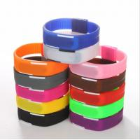 Buy cheap Plastic Case LED Digital Silicone Sports Watch With Chinese Electronic Movement product