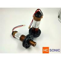Buy cheap 20khz 3000w Ultrasonic Welding Transducer For Lace Sewing , High Performance product