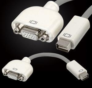 Mini DVI Male to VGA Female Adapter Convertor for Apple MacBook Display Monitor