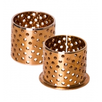 Buy cheap WB702 WB700 CuSn8 CuSn6.5 Wrapped Bronze Bushings With Holes product