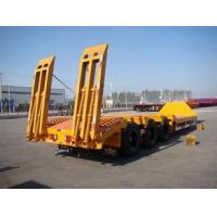 Buy cheap Hot selling famous brand low bed for transportation , truck trailer spare parts product