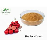 Quality Natural Hawthorn Fruit Extract Flavone 20% Food Grade Help Digestion for sale