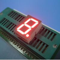 Quality High Brightness 7 Segment LED Display Single Digit 0.8 Inch Big Viewing Angle for sale