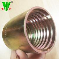 Buy cheap Hydraulic hose ferrule fitting forged flexible hose connector product