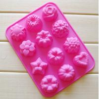 Buy cheap Various shape flower trees silicone mold,ice cube mold,cake mold customized product