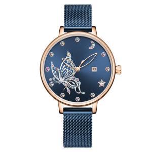Buy cheap Japan Movement Stainless Steel Mesh Women Watches Quartz Wristwatch 36mm product