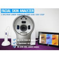 China UV Spectrum Salon 3D Facial Skin Analyzer Machine With Canon Camera 8800 Lux wholesale