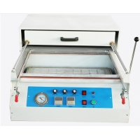 Buy cheap Hot sale Acrylic Semi automatic thermo vacuum forming machine product