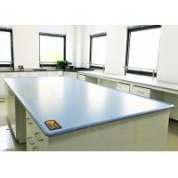 Buy cheap Blue / Customized Color Chemical Resistant Table Tops Island Bench Type product