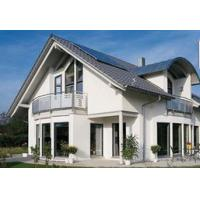China Light Steel Frame Prefabricated Villa / Energy Saving Modern Modular Homes prefab villa on sale