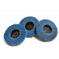 Buy cheap Assorted 2 Zirconia Type R Flap Abrasive Sanding Discs Wheels 40 60 80 Grit product