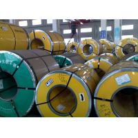 Buy cheap Thickness 0.3 - 3.0mm Steel Strip Coil, 400 Series Stainless Steel Sheet Metal Coil product