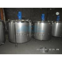 Buy cheap Stainless Steel Mixing Tank with Agitator 500L 1000L Steam Jacket Heating And Cooling Mixing Tank product