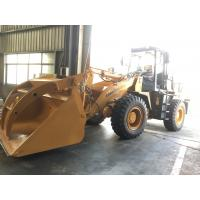 China Lonking 3 ton front end loader with steel pipe clamp for sale on sale