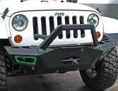 China Jeep Wrangler Front Bumper Steel Bumpers For Wrangler Jeep on sale