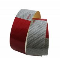 Buy cheap Night Dot C2 Conspicuity Tape 6 inch Red and White Honeycomb Inner Printing product