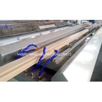 Buy cheap wpc door frame extrusion line WPC solid door frame extrusion line product