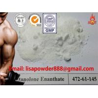 Buy cheap Raw Steroid Powders CAS No 521-12-0 , Drostanolone Enanthate For Steroid Cycle product