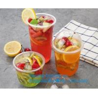 Buy cheap 7Oz/200ml white Disposable Ice Tea Plastic Cups For Any Occasion, BPA-Free , Juice, Soda, and Coffee Glasses for Party, product