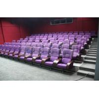 Comfortable 3D Theater Seating Furniture 4D Movie Theater Seats For Auditor