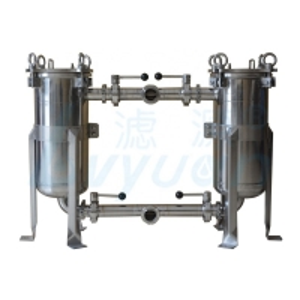 Buy cheap SGS 1.0Mpa 0.3um SS304 SS316 Duplex Bag Filter Housings product