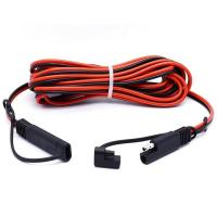 Buy cheap 2 Pin SAE Connector Quick Disconnect Trailer Wire Harness Male to Female Cable Assembly Manufacturer product