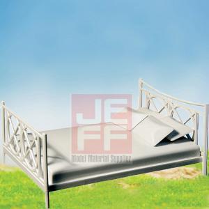 Buy cheap Les meubles de modèle d'échelle, mini ABS de fruniture de disposition modèlent le lit PB01 product