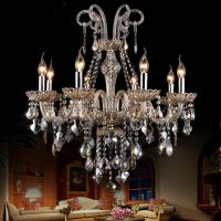China Modern Crysal Chandelier for living room bedromm Kitchen Lights Lustre de cristaln Luxury chandelier K9 Crystal lamp wholesale