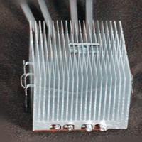 Buy cheap Copper base and aluminum stacked fin heat sink product