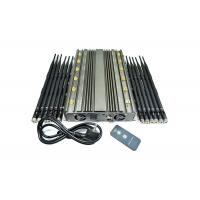 Buy cheap 12 Antennas 80m 4G 5G Cell Phone Signal Jammer High Power product