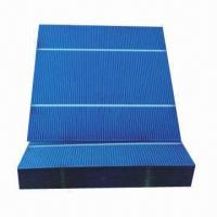Buy cheap 156x156mm high-efficient 4W 3bb polycrystalline solar cells, 6x6 inches product